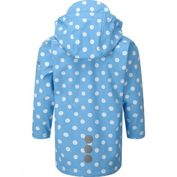 Kozi Kidz Kids Regn Kappa Rain Coat Sea Dots