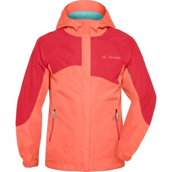Vaude Girls Leni 2L Jacket Apricot