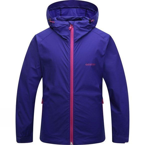 Skogstad Girls Sovikvatnet Jacket Shock Blue