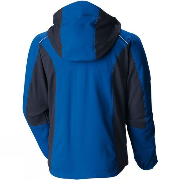 Columbia Boys SplashFlash II Hooded Softshell Jacket Super Blue/Colliegate Navy