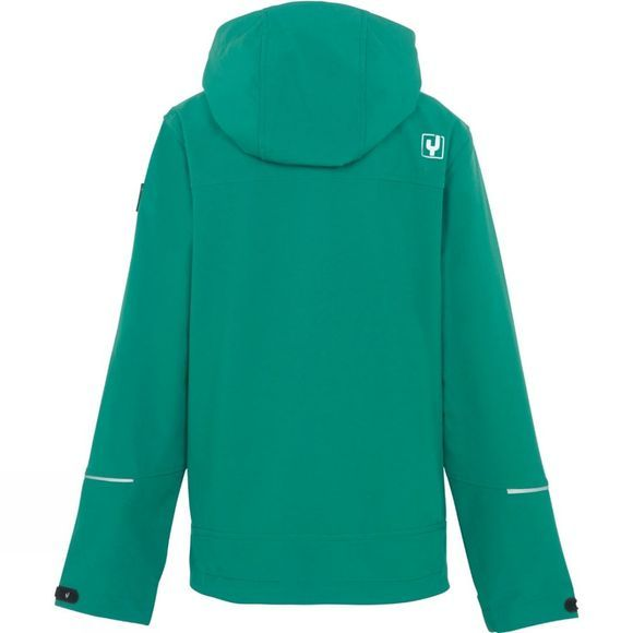 Ayacucho Boys Leon Softshell Jacket Green