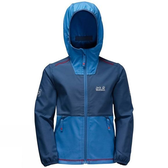 Jack Wolfskin Boys Turbulence Jacket Ocean Wave