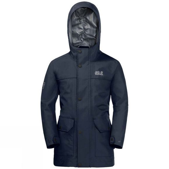 Jack Wolfskin Boys Banner Jacket Night Blue