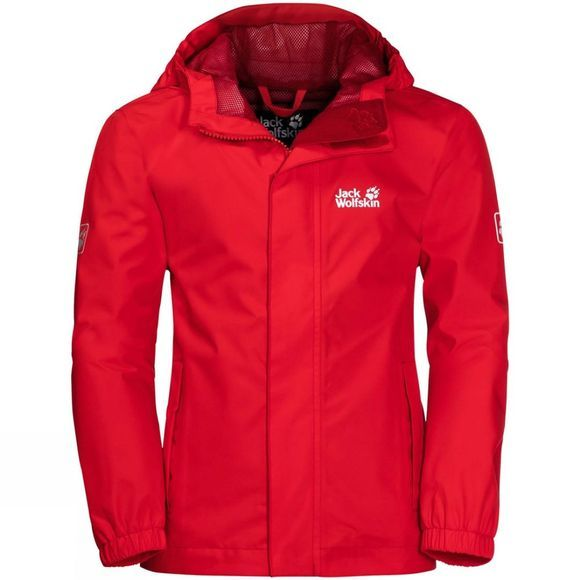 Jack Wolfskin Kids Pine Creek Jacket Peak Red