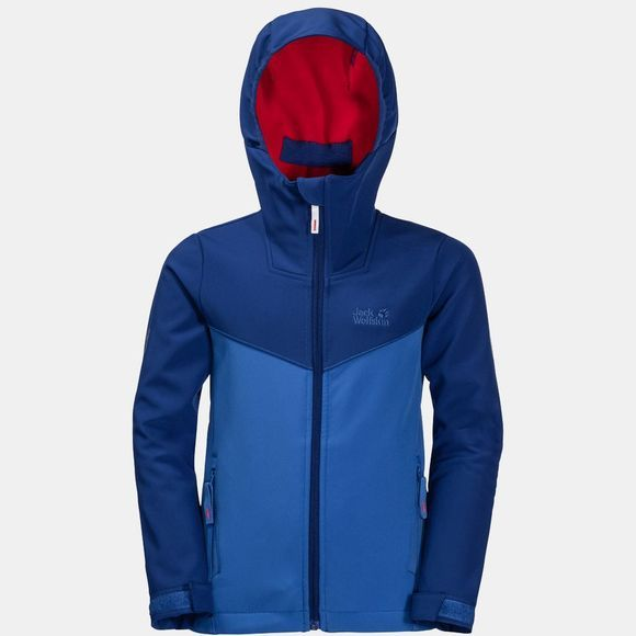 Jack Wolfskin Kids Windmill Road Jacket Coastal Blue