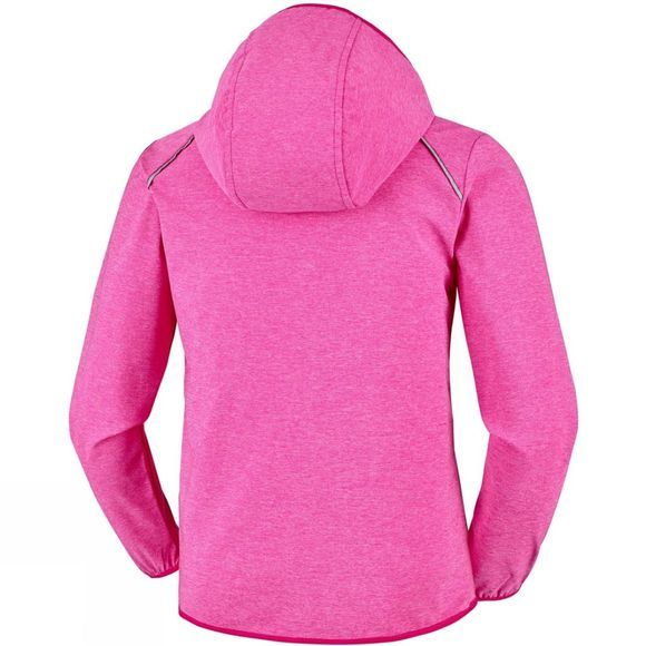 Columbia Boys Heather Canyon Softshell Jacket Haute Pink Heat