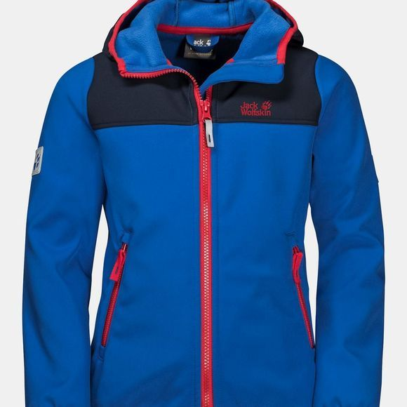 Jack Wolfskin Kids Fourwinds Jacket Coastal Blue