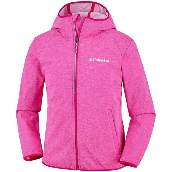 Columbia Boys Heather Canyon Softshell Jacket 14+ Haute Pink Heat