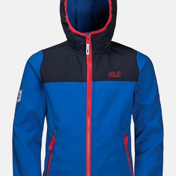 Jack Wolfskin Youth Fourwinds Jacket 14+ Coastal Blue