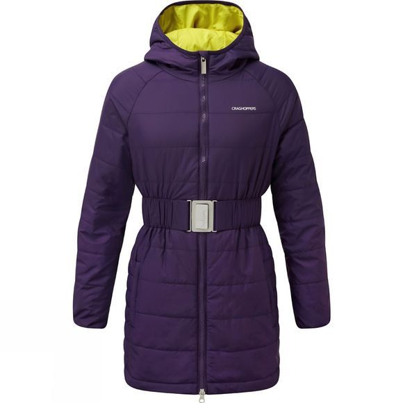 Craghoppers Girls Romy Jacket Dark Plum