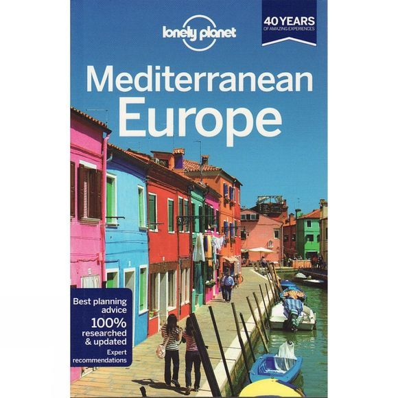 Lonely Planet Mediterranean Europe No Colour