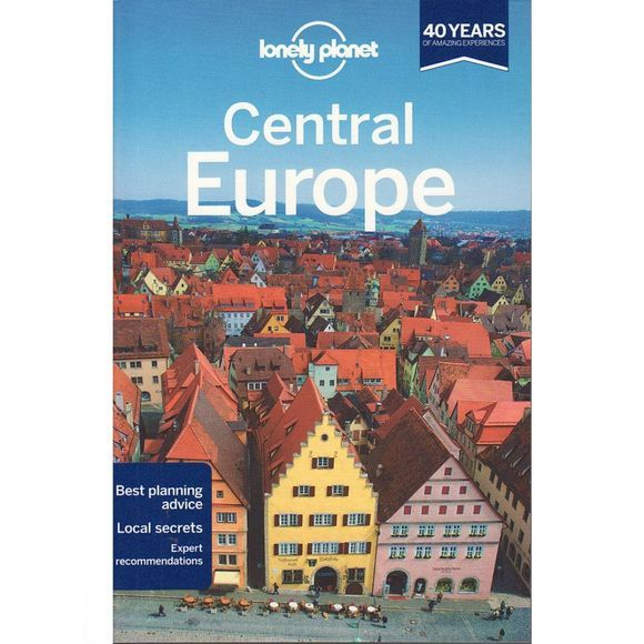 Lonely Planet Central Europe No Colour