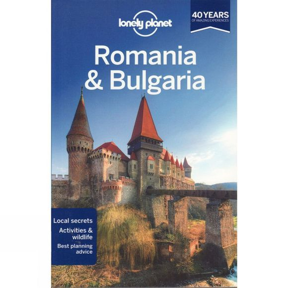 Lonely Planet Romania and Bulgaria No Colour