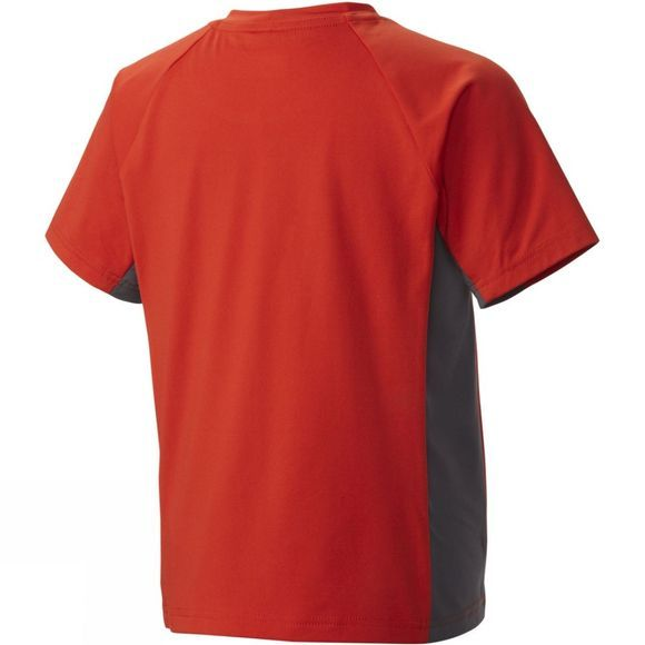Columbia Boys Silver Ridge Short Sleeve Tee Super Sonic/Grill