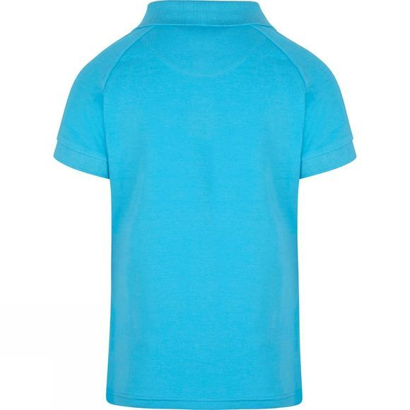 Skogstad Girls Luster Polo Shirt Turquoise