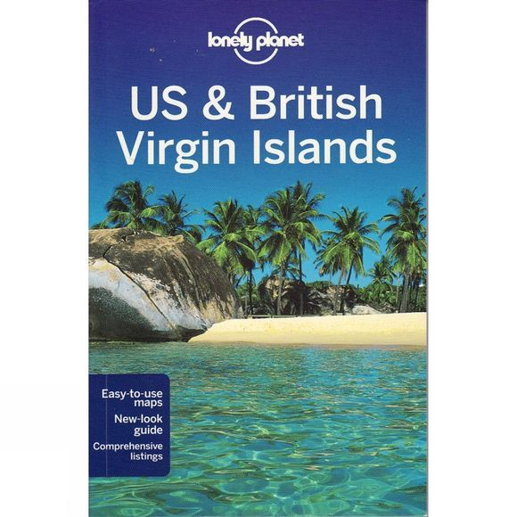 Lonely Planet US and British Virgin Islands No Colour