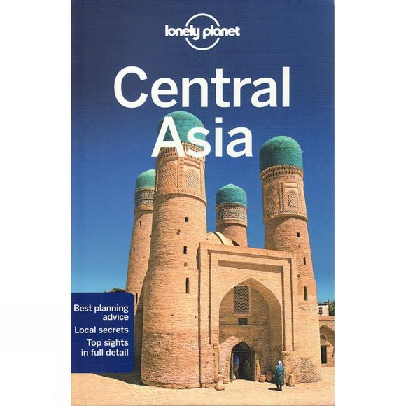 Lonely Planet Central Asia No Colour