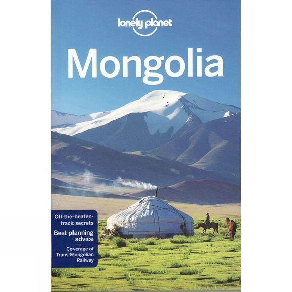 Lonely Planet Mongolia No Colour