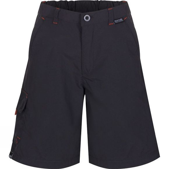 Regatta Kids Sorcer Shorts Ash