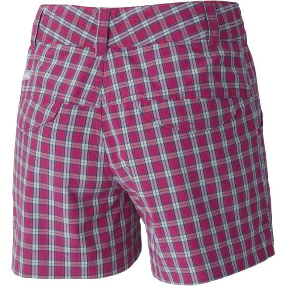 Girls Silver Ridge Plaid Shorts
