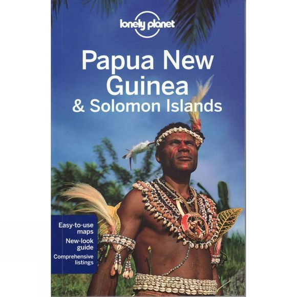 Lonely Planet Papua New Guinea and Solomon Islands No Colour