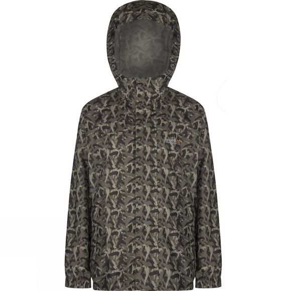 Regatta Youths Printed Pack-It Jacket Age 14+ Fauna