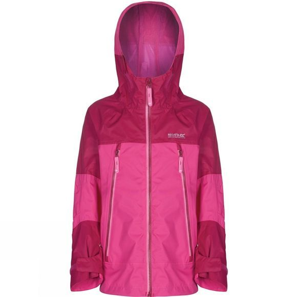Regatta Girls Allcrest Jacket Age 14+ Jem/Dark Cerise