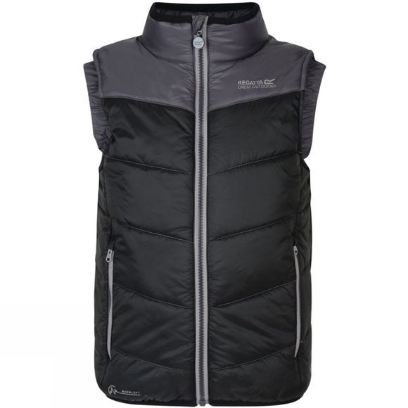 Regatta Kids Icebound II Insulated Vest Black/Iron