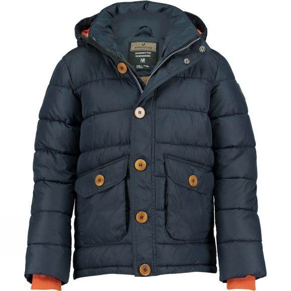 Ayacucho Kids North Bay Junior Coat Dark Navy