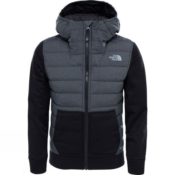 The North Face Bos Mitteleggi Down Hoodie Black