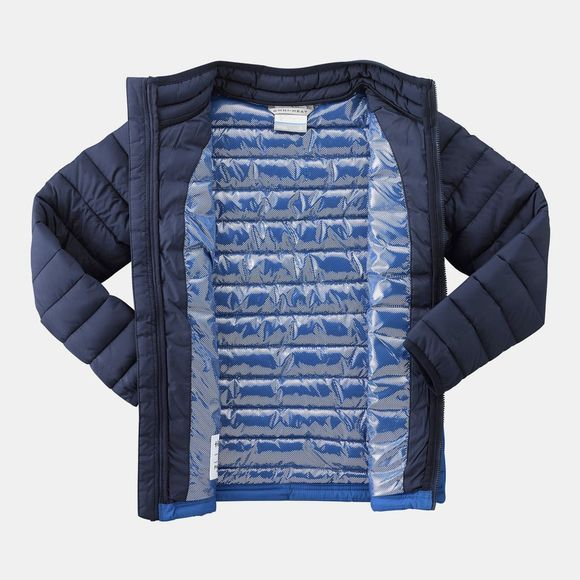 Columbia Boys Powder Lite Jacket Super Blue/ Collegiate Navy