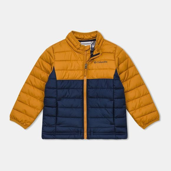 Columbia Boys Powder Lite Jacket Collegiate Navy/Canyon Gold