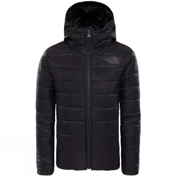 The North Face Boys Reversible Perrito Jacket TNF Black