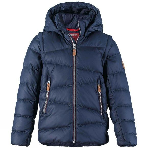 Reima Boys Martti Down Jacket Navy