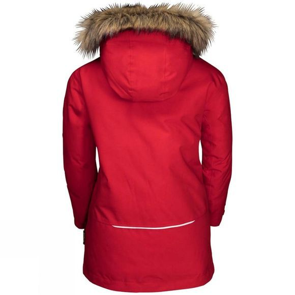Jack Wolfskin Youth Ice Explorer Jacket 14+ Red Lacquer