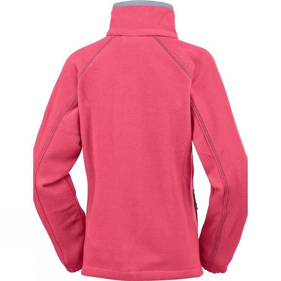 Columbia Youths Fast Trek II Full Zip Age 14+ Red Camellia / Spray