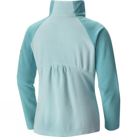 Columbia Girls Glacial Half Zip Fleece Age 14+ Spray / Miami