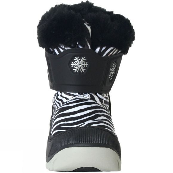 Calzat Too Cute Boot White          /Patterned