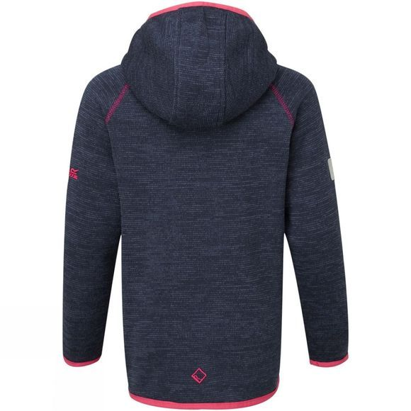 Regatta Kids Dissolver Fleece Navy & Pink