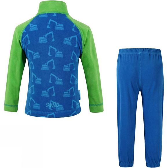 Kids Tronfjellet Microfleece Set