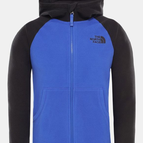 The North Face Boys Glacier Full Zip Hoodie TNF Blue