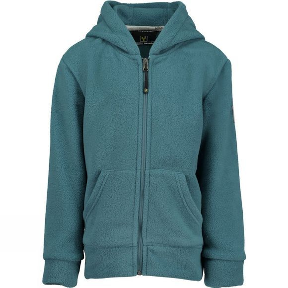 Boys Oak Full Zip Fleece Hoody