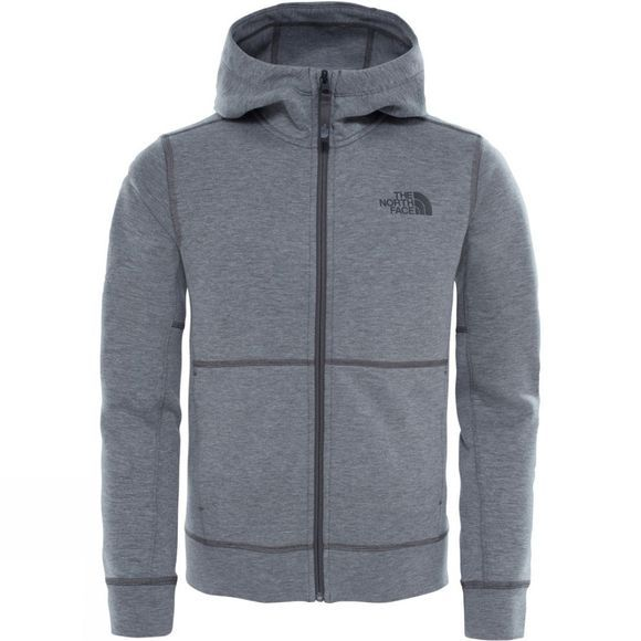 The North Face Boys Mountain Slacker Hoodie TNF Medium Grey Heather