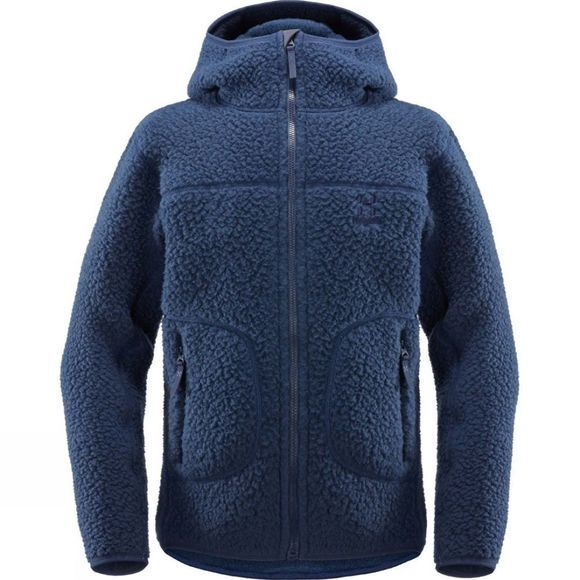 Haglofs Junior Pile Hood Jacket Tarn Blue