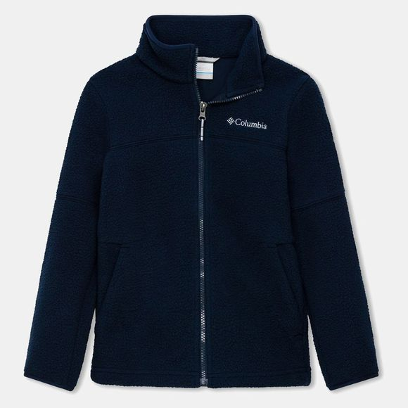 Columbia Boys' Rugged Ridge Sherpa Full Zip Collegiate Navy