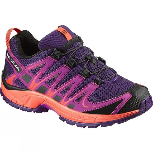 Salomon Kids XA Pro 3D Shoe Cosmic Purple / Deep Dalhia