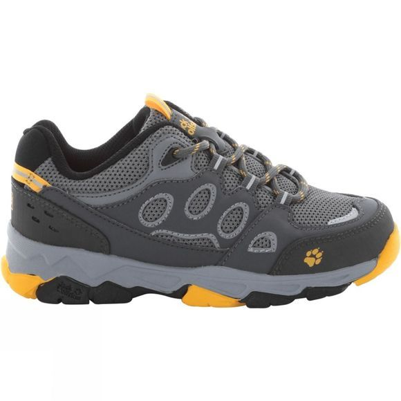 Jack Wolfskin Kids Mtn Attack 2 Low Shoe Burly Yellow