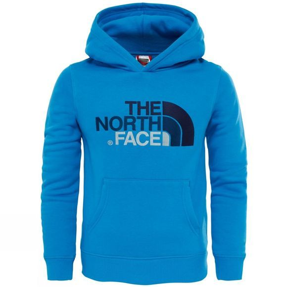 The North Face Drew Peak Pullover Hoodie Age 14+ Clear Lake Blue