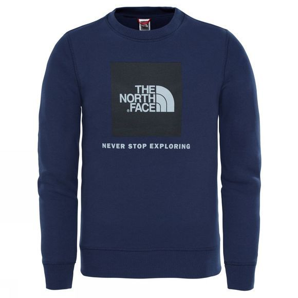The North Face YOUTH BOX DREW PEAK CREW Cosmic Blue