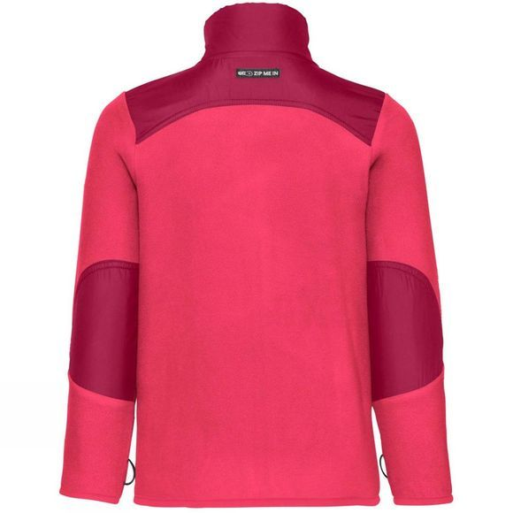 Vaude Boys Racoon Fleece Jacket 14+ Bright Pink